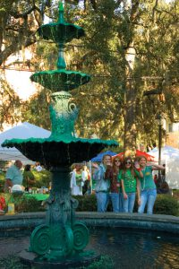 Savannah St. Patrick's Day Lafayette Square